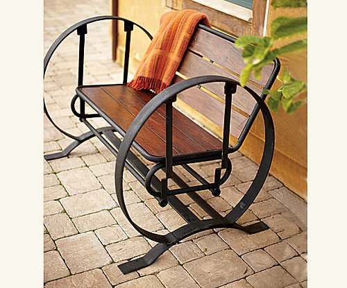 Summer Style: Wagon Wheel Glider