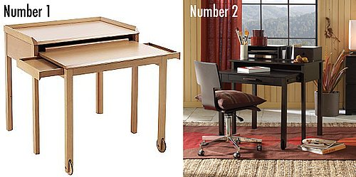 Less or More: Extending Desks