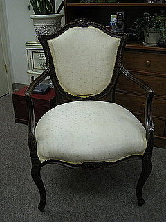 Before and After: A Vintage Chair Makeover
