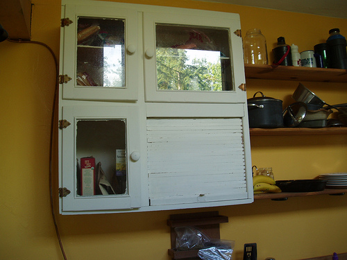 Salvaged Cupboards