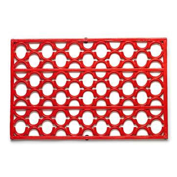 This Smith & Hawken Cast Iron Doormat ($71) will infuse your doormat with a pop of warm, vibrant color, and impress your guests with its classic lattice design. Made of weather- and rust-resistant cast iron, it's ideal for scraping off mud and debris from your outdoor household tasks this Fall.