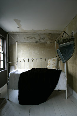 Sometimes bare bones are all a bedroom needs.