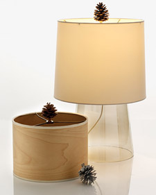 How-To: Make a Pinecone Lamp Finial