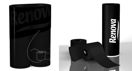 Would You Use Black Toilet Paper?