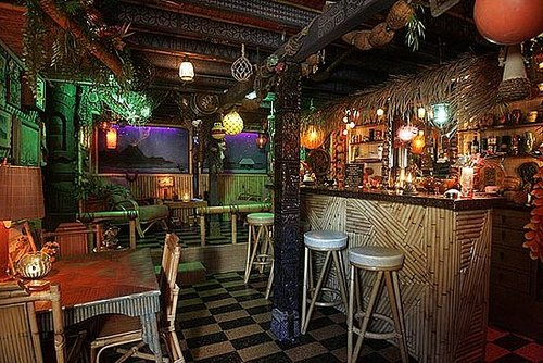 Would You Turn Your Basement Into a Tiki Bar?