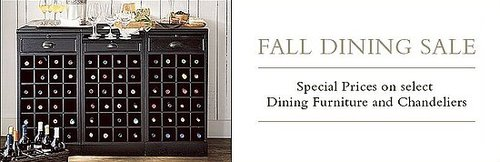 Sale Alert: Pottery Barn Dining Sale