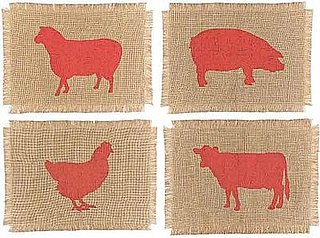 Nice and New: Simrin Farmyard Placemats
