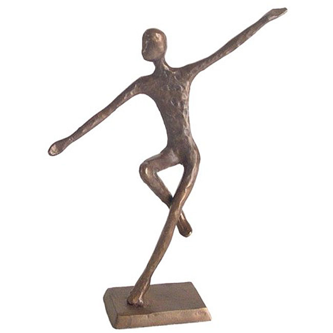Snatch up one of your own, the Man Dancing Cast Bronze Sculpture ($34.99), at a fractional price.