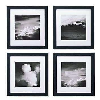 Get the same look in your pad with the Williams-Sonoma Cloud Prints ($69.99).