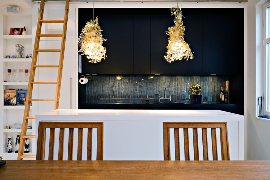 The Arctenica Garland Lights ($76) by Tord Boontje bring a bit of whimsical style to a reserved kitchen.