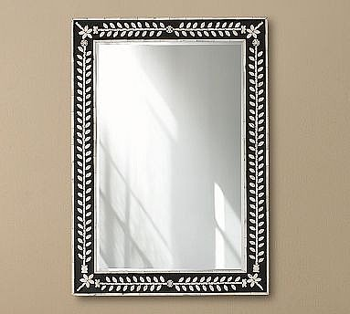 Sarina Inlaid Mirror, 24 x 34"