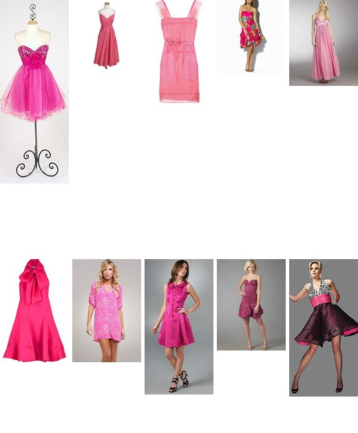 Top 10 Favorite Pink Dresses