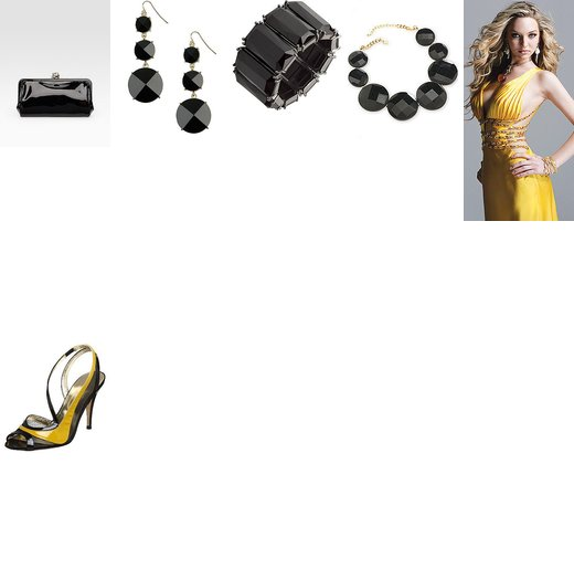 Yellow Sexy Cutout Prom Dress Challenge - Great Sommelier