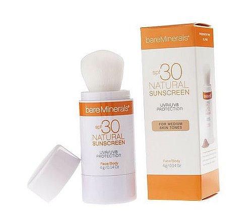 I'm loving Bare Mineral SPF 30 Natural Sunscreen
