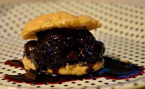 Blueberry Shortcakes Recipe