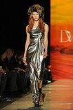 Gorgeous metallic ombre liquid jersey gown