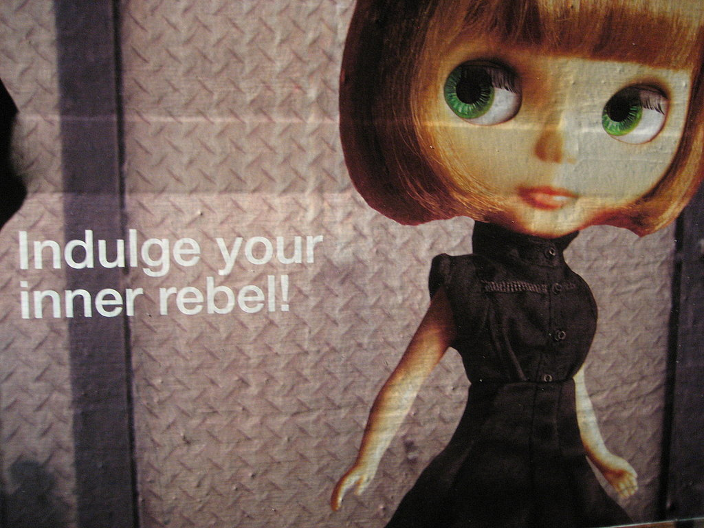 Indulge your inner rebel!