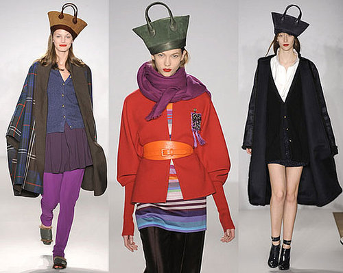 Hats at Isaac Mizrahi's 2009 Fall Runway Show