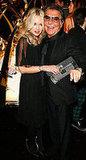 Rachel Zoe and Roberto Cavalli
