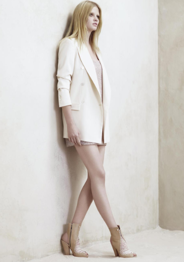 Sneak Peek! Lara Stone for Zara Spring '09