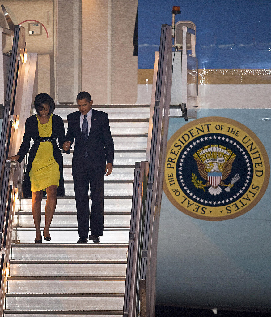 Michelle Obama's Euro Style — Which Outfit Is Your Favorite?