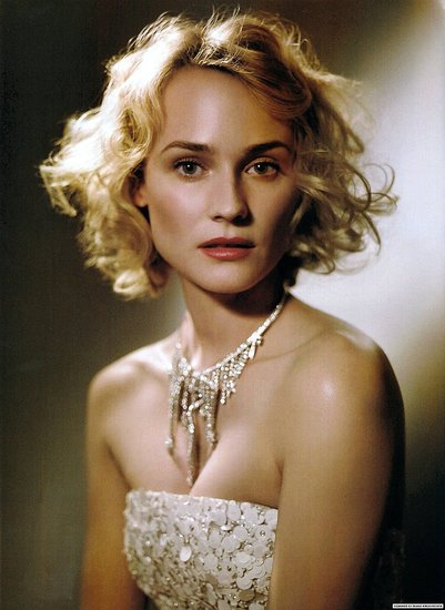 Girls on Film: Diane Kruger, Vogue Italia, March &#039;09