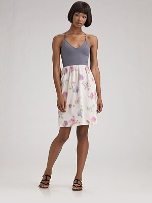 Fab Celebrates Spring With Saks: Win a Ballerina Floral Theory Frock!