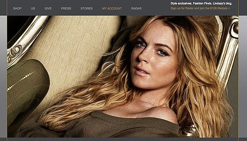 Lindsay Lohan Sells Her 6126 Leggings Online and Starts Blogging