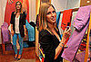 Nicky Hilton Attends BrightPair Launch Party for Paige Premium Denim and OPI Wearing Bright Blue Jeans and Black Blazer