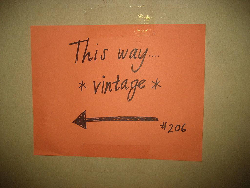 Behind the Seams: Vintage Swap Party