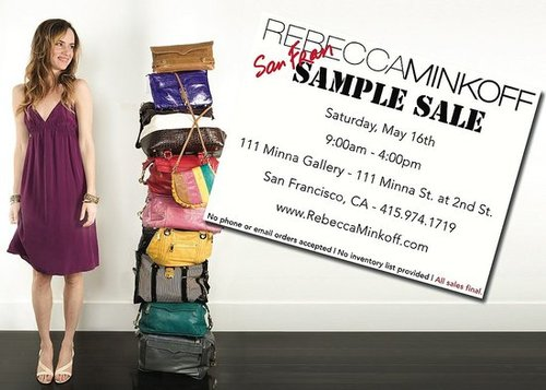 Rebecca Minkoff SF Sample Sale!