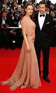 Angelina Jolie Wears Versace at Inglourious Basterds Premiere at 2009 Cannes Film Festival