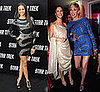 Zoe Saldana and Sharon Stone Wear Pucci Beaded Snake Dress