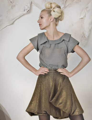 Look Book Love: Project Runway's Leanne Marshall, Fall '09