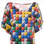The Designer Lego Dress Takes Geekery, Bravery
