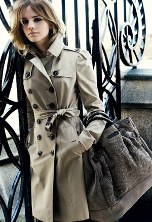 Emma Watson for Buberry Fall '09