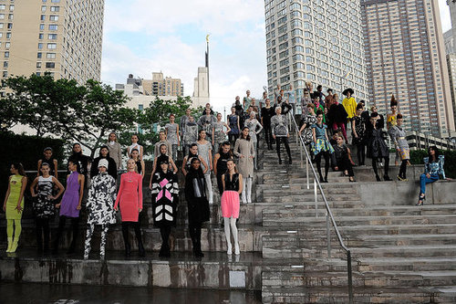 Picture This: Model Mania, The 2009 CFDA Awards, Lincoln Center