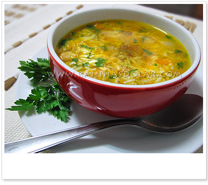 Chicken Soup (Canja)
