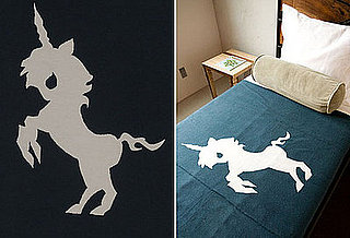Twinkle Living Dancing Unicorn Throw
