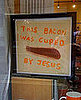 Bacon Cured by Jesus Sign