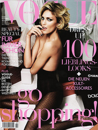 Anja Rubik - Vogue Germany September 2009