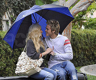 Photo of Heidi Montag and Spencer Pratt Outside the Niketown