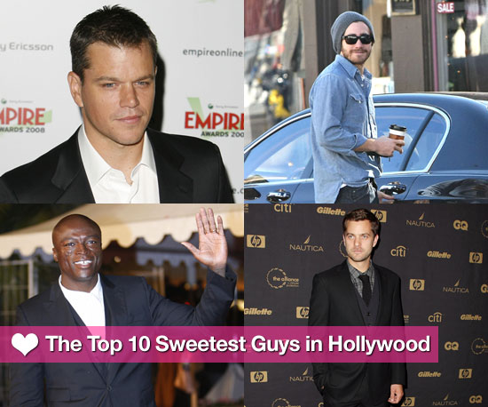 PopSugar's Top 10 Sweetest Guys in Hollywood