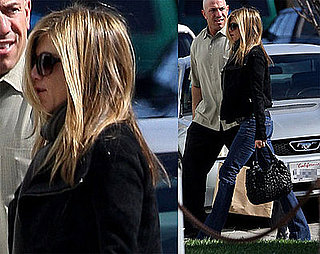 Photos of Jennifer Aniston Heading to a LA Photo Studio on her 40th Birthday