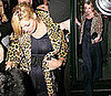 Kate Moss Leaves Dinner