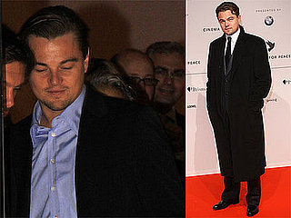 Photos of Leonardo DiCaprio Leaving Cinema For Peace Dinner, at Charity Gala