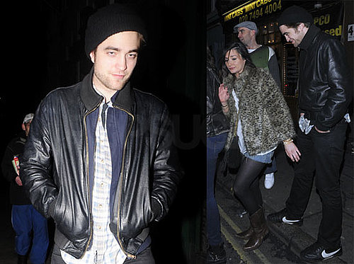 Photos of Twilight's Robert Pattinson Out in London at the Groucho Club
