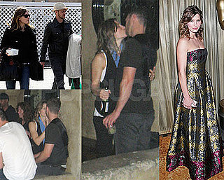 Photos of Jessica Biel and Justin Timberlake Kissing After the 2009 Grammys