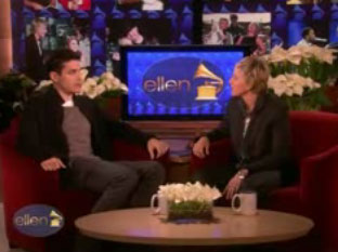 Videos of John Mayer Talking About Jennifer Aniston and Singing Lady Gaga Duet on Ellen DeGeneres Show