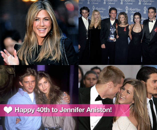 Taking a Look At Jennifer Aniston's First 40 Years on Her Birthday